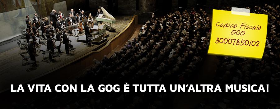 5x1000 alla GOG Giovine Orchestra Genovese