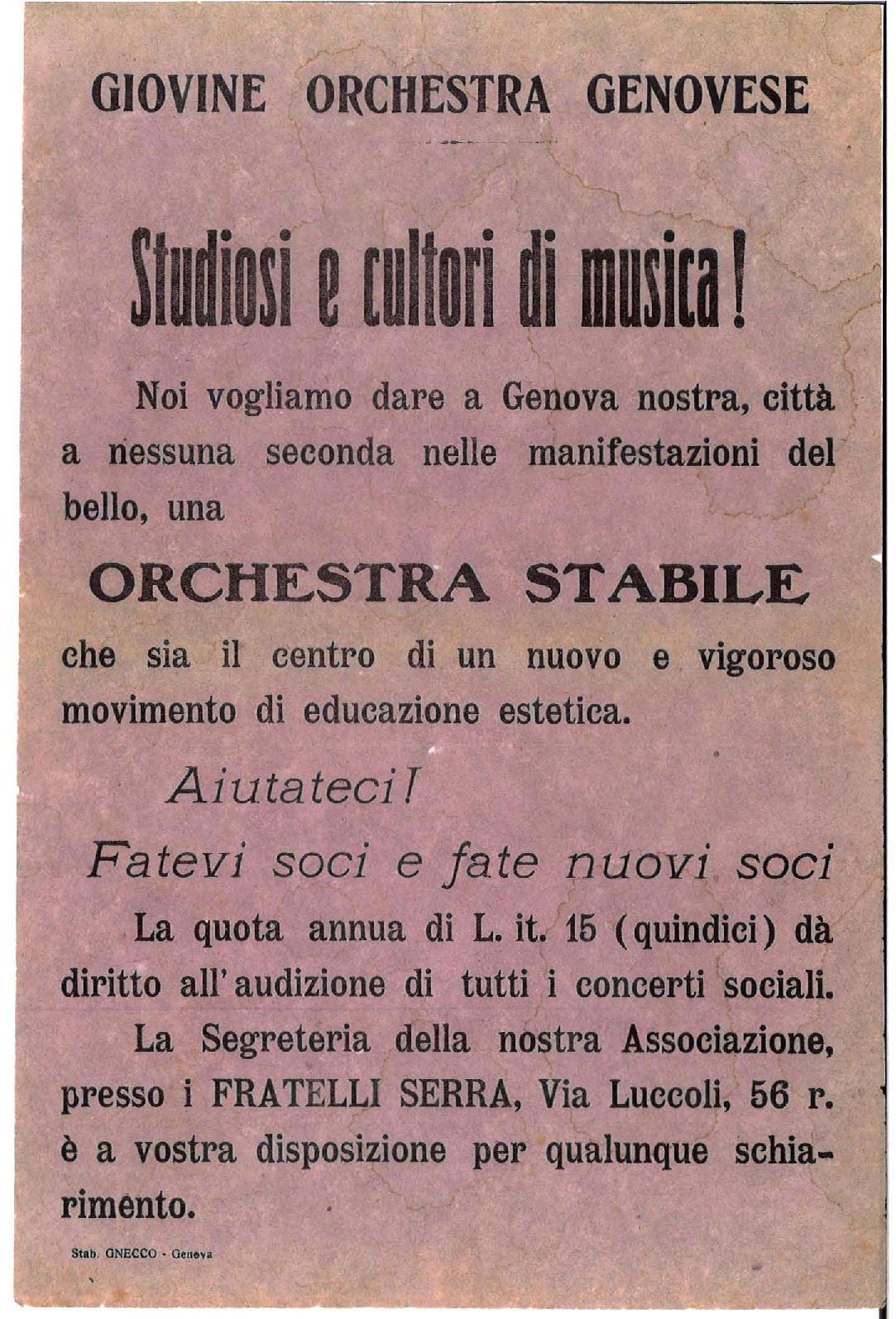 Avviso GOG 1912_Genova